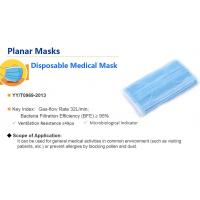 Buy cheap Health Protective Disposable Non Woven Face Mask Against Pollution Personal Care from wholesalers