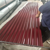 Quality colour coated roofing sheet iron ppgi corrugated roofing sheets with logo for sale
