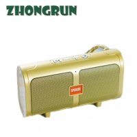 Quality Wireless Bluetooth Speaker 2020 New T16 card outdoor convenient dual speaker subwoofer Bluetooth speaker for sale