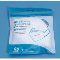 Quality Breathing Protective KN95 Face Mask , KN95 Dust Mask With Elastic Earloop For ITM Manufacture for sale