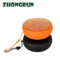 Quality Bluetooth speaker Cloth art wireless mini speaker Q9 outdoor listening gift Customized Bluetooth speaker for sale