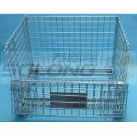 Light Duty Hexagonal Wire Container Storage Cages 6mm Wire Guage for sale