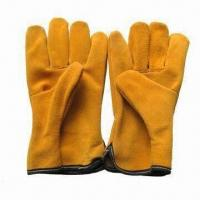 Quality Driver Gloves, Made of Cow Split Leather, Available in Various Sizes for sale
