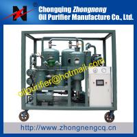 Quality transformer oil recycle machine for electrical power system,decoloration purifier,renew for sale