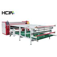 Quality ISO 9001 Approval Dye Sublimation Machine Oil Heating Roll To Roll Heat Press for sale