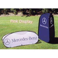 Quality Charity Sports 100 Polyester Pop Up Banner Stand for sale