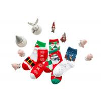 Quality Christmas Decoration Cotton Winter Socks 75% Cotton And 25% Spandex Material for sale