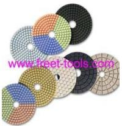 Diamond Pads, Diamond Wet Polishing Pads, Polishing Pads