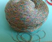 Quality 100 Grams High Quality Colorful metallic yarn mercerized cotton knitting yarn for sale