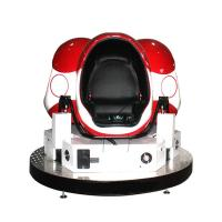 Quality Egg Shape Cinema 9D VR Chair On Salechildren Game Interactive Cabin With Dynamic Effects for sale