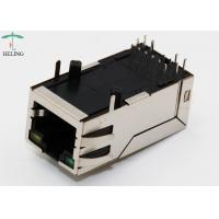Quality Long Body 32.5mm 10P8C Integrated Magnetics RJ45 With Transformer 1000M Base - T Lan Jack  R/A THT LED for sale