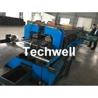 Quality 1.5-2.5mm Carbon Steel Cable Tray Roll Forming Machine With 5 Ton Hydraulic Uncoiler for sale