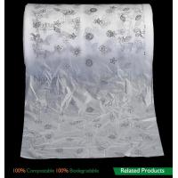 China Film Biodegradable Compost Bags , Biodegradable Packaging Bags For Baby Breathable Back Sheet on sale