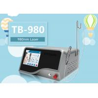 Quality 10W - 30W 980nm Diode Laser Machine for Red Blood Vascular Removal 8.4 Inch Touch Screen for sale