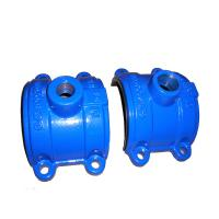 Best ISO Casting Ductile Iron Saddle Tee Without Flange 300psi DN80 to DN2000 wholesale