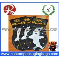 Quality Black Eco-Friendly Plastic Treat Bags 0.02mm - 10mm With Ties For Packing for sale
