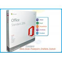Quality Online Activation Microsoft Office 2016 Pro Standard License 1 PC DVD for sale