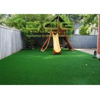 Quality PE Material Soft Artificial Grass For Playground CE And SGS Qualified for sale