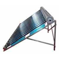 Quality glass vacuum tube low pressure solar collector with reflector for sale