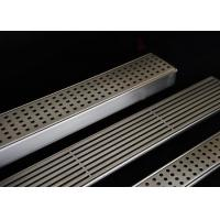 Quality Easy Installation Stainless Steel Drain Grate With Flat Surface / Curved Grid Type for sale