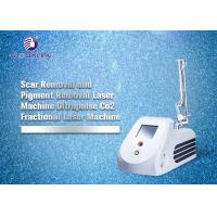 Buy cheap portable co2 fractional laser plastic surgery acne scar removal with certificate from wholesalers
