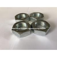 Buy cheap Carbon Steel Hex Thin Nut Din439 M27 Plain Black Zinc Plated Oxide And HDG from wholesalers