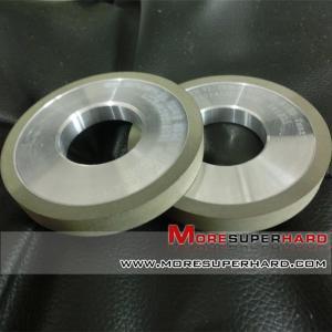 Quality Diamond resin bond wheel for carbide    carbide diamond grinding wheel   gina@moresuperhard.com for sale