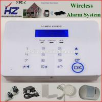 Quality easy operation smart remote control anti-theft security GSM alarm for sale