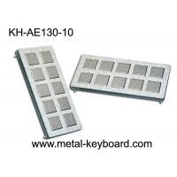 Best IP65 Rated Stainless Steel Keyboard , customisable ss keyboard 10 Super Size Keys wholesale