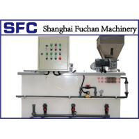 Quality Wastewater Treatment Flocculant Preparation System / Sludge Polymer Dosing System for sale