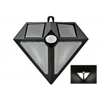 China Wall Solar Powered Wireless Pir Motion Sensor Light Triangle Shape on sale