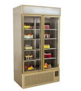 Quality Upright Display Freezer Supermarket Refrigerator Equipment for sale