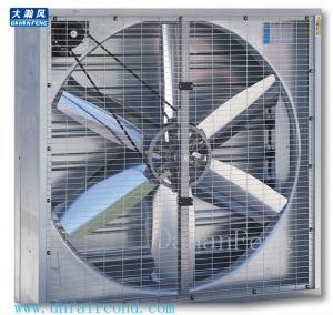 Quality DHF Belt type 400mm exhaust fan/ blower fan/ ventilation fan motor upside for sale