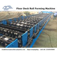 Quality 1200 Feeding Roof Panel Roll Forming Machine Gear Box Transmission for sale
