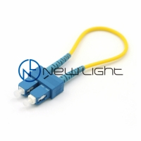 Buy cheap Single Mode Yellow G657A2 Fiber Optic Loopback from wholesalers
