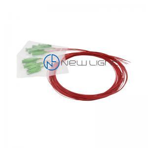 Quality E9/125 OS2 LC/APC Optical Fibre Patch Cords FO Fiber Pigtail for sale