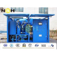 China Vacuum Transformer Waste Oil Purifier And Purification Plant Light Weight on sale