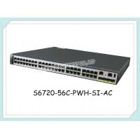 Buy cheap S6720-56C-PWH-SI-AC Huawei Network Switch 32 Gigabit Ports 16x100M/1/2.5/5/10G from wholesalers