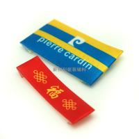 Quality 3D Raise Logo Heat Transfer Labels For T Shirts , Brand Tags For Clothing for sale
