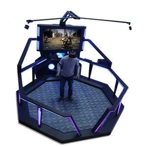 Quality Indoor Virtual Reality Sports Simulators , Amusement Park VR Walking Simulator for sale