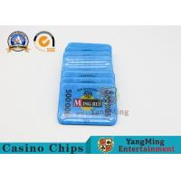 Quality Gambling RFID Casino Chips / ABS Poker Chips Set With Uv Mark 13.56Mhz for sale