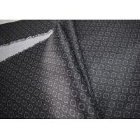 Quality Grey Printed Apparel Fabric High Standard Tear Strength Wrinkle Resistance for sale
