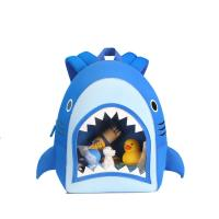 Quality NHB186 New arrival cute and vivid shark toddler Backpack bag for sale