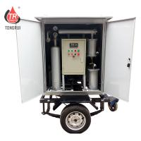 Buy Mobile Single stage Transformer Oil Dehydration Purifier Treatment Machine at wholesale prices