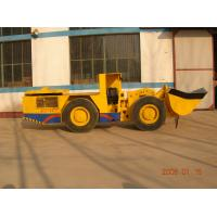 Quality Full hydraulic steering and manual control Underground Utility Vehicle Mining  Loader Diesel LHD for sale