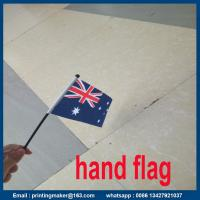 Quality Printing Polyester National Hand Flag for sale