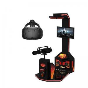 Quality 220V 0.8KW Virtual Reality Shooting Simulator , 9D Virtual Reality Shooting Games for sale
