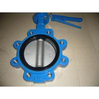 Quality Stainless Steel Pneumatic Operated Butterfly Valve Metal Seated DIN / ANSI Flange for sale