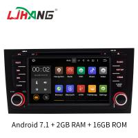Quality 2GB RAM A6 Audi Car DVD Player GPS Navigation System With SD USB Radio Mirror Link for sale