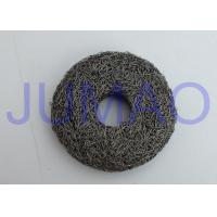 Quality Overall Rigidity Knitted Mesh Filters High Strength Round With Hole In Center for sale